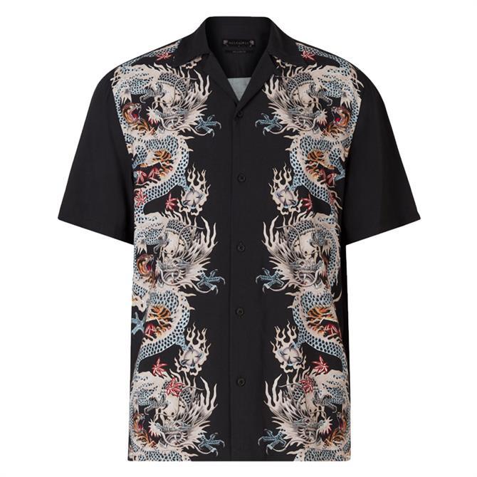 AllSaints Dragonstone Short Sleeve Shirt
