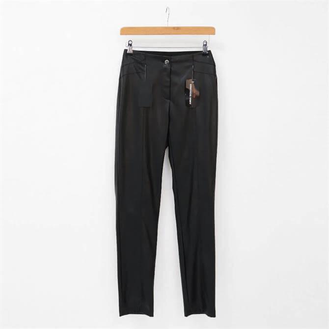 Anna Montana Jackson Faux Leather Trousers