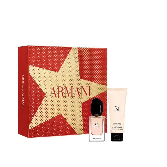 Armani Sì Eau de Parfum + Body Lotion Christmas Gift Set for Her