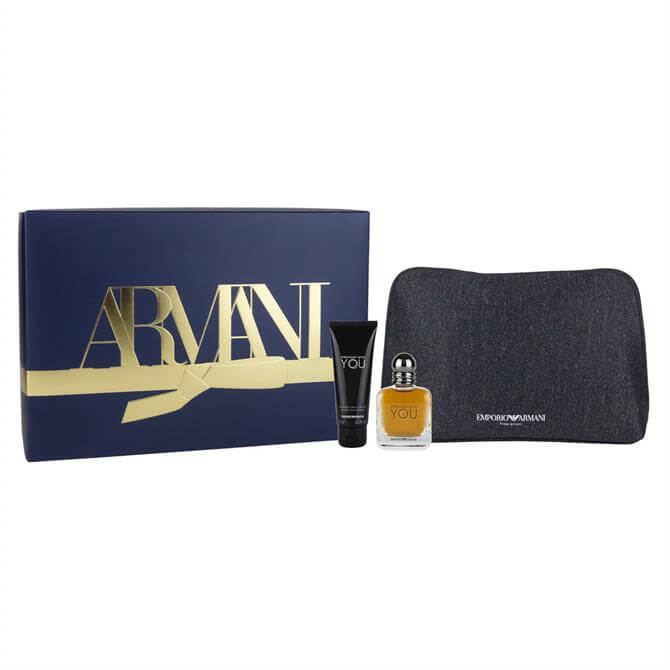 Armani Stronger With YOU Eau de Toilette Christmas Set For Him 50ml