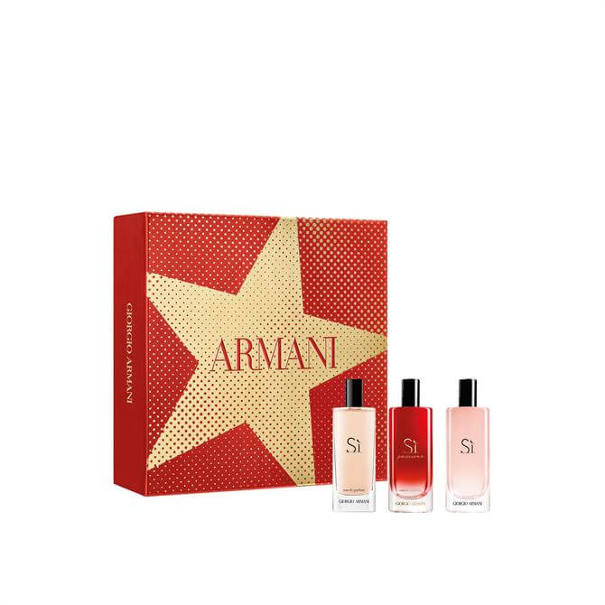 Armani Sì Eau de Parfum Women's Christmas Discovery Set x3 15ml