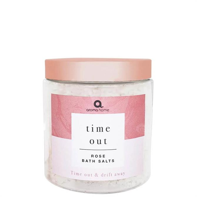 Aroma Home Time Out Rose Bath Salts