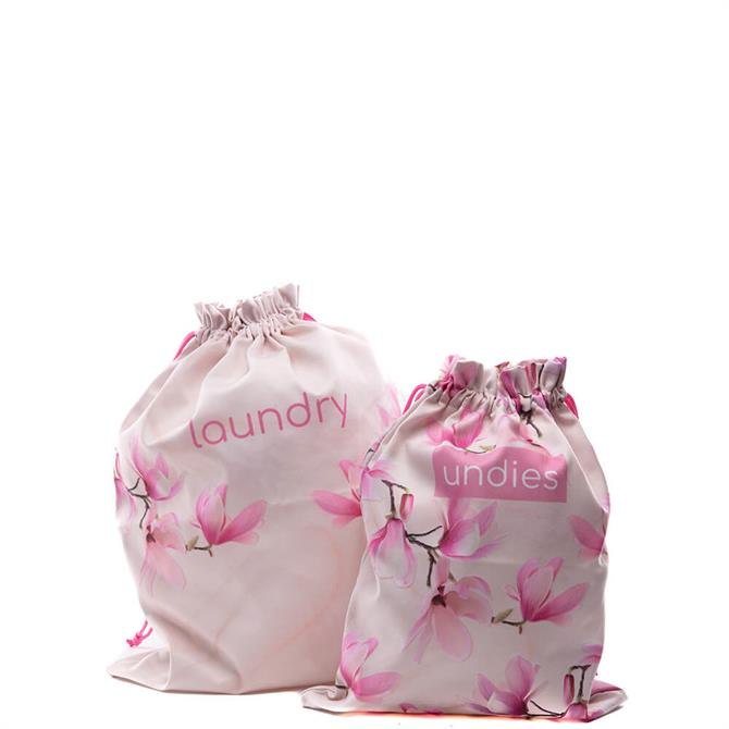 Danielle Creations Marbled Magnolia Laundry Bags