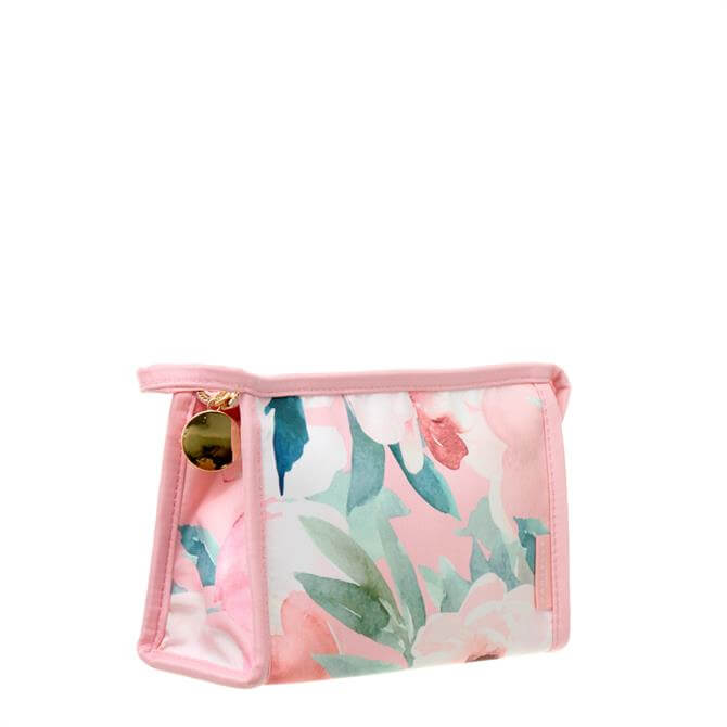 Danielle Creations Pink Floral Small Travel Bag
