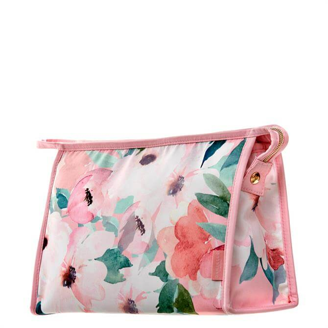 Danielle Creations Pink Floral Tall Travel Bag