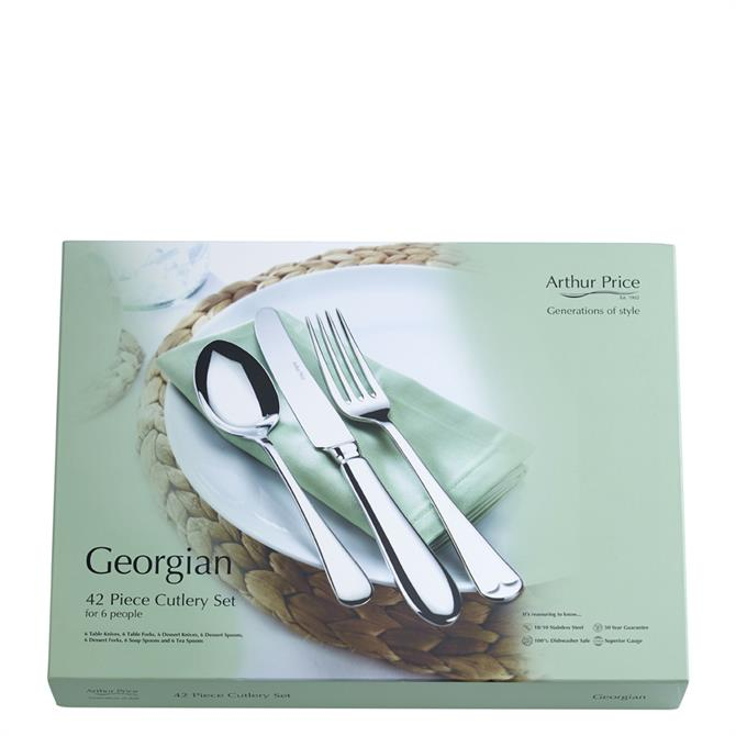 Arthur Price Georgian 42 Piece Stainless Steel Cutlery Set