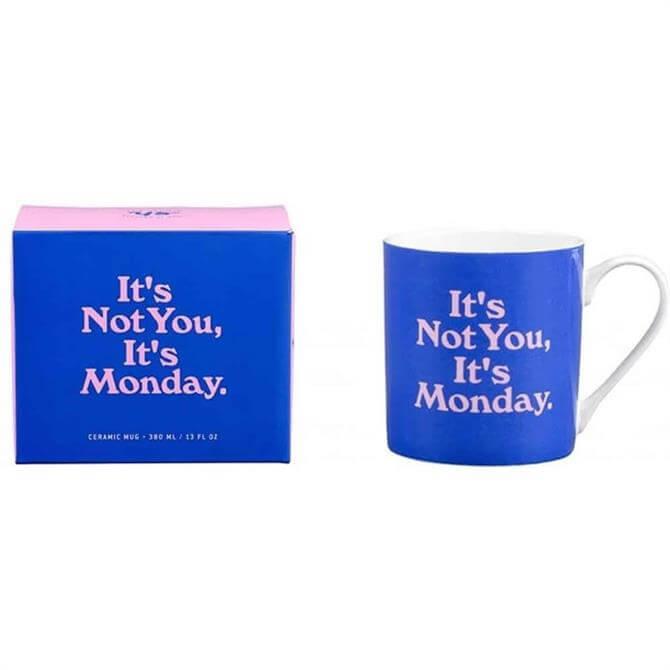 Yes Studio - Ceramic Mug 'It's Not You, It's Monday'