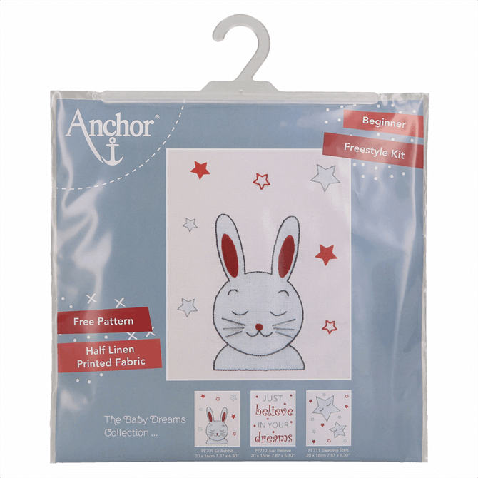 Groves Embroidery Set Bunny