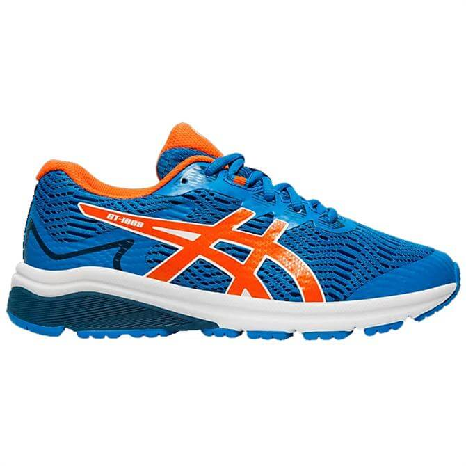 Asics Kid's GT-1000 8 GS  Running Shoes – Directoire Blue / Koi