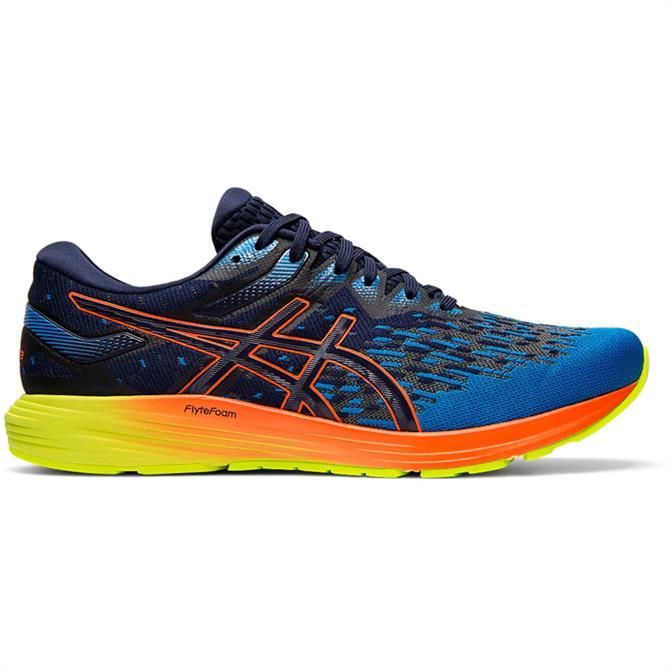 Asics Men's Dynaflyte 4 Running Shoe - Navy/Orange