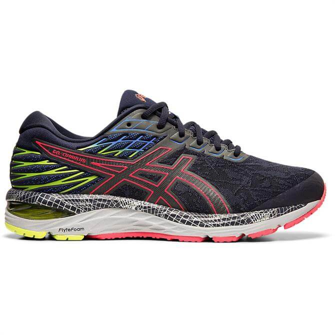 Asics Men's GEL-CUMULUS 21 LS Running Shoe - Midnight/Silver