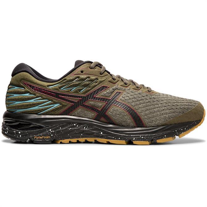 Asics Men's GEL-CUMULUS 21 Winterized Running Shoe - Olive Canvas/Black