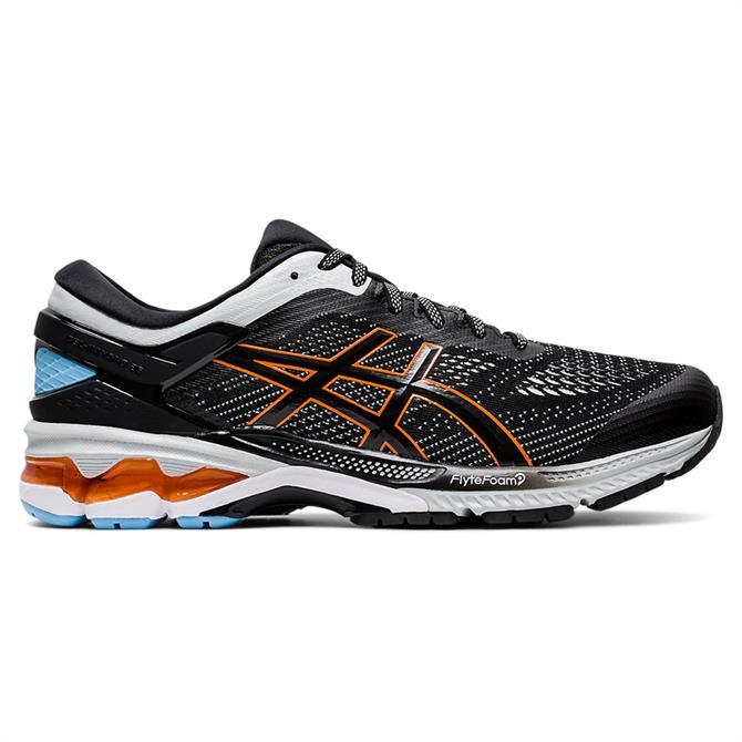 Asics Men's GEL-KAYANO 26 Running Shoe - Black/Polar Shade
