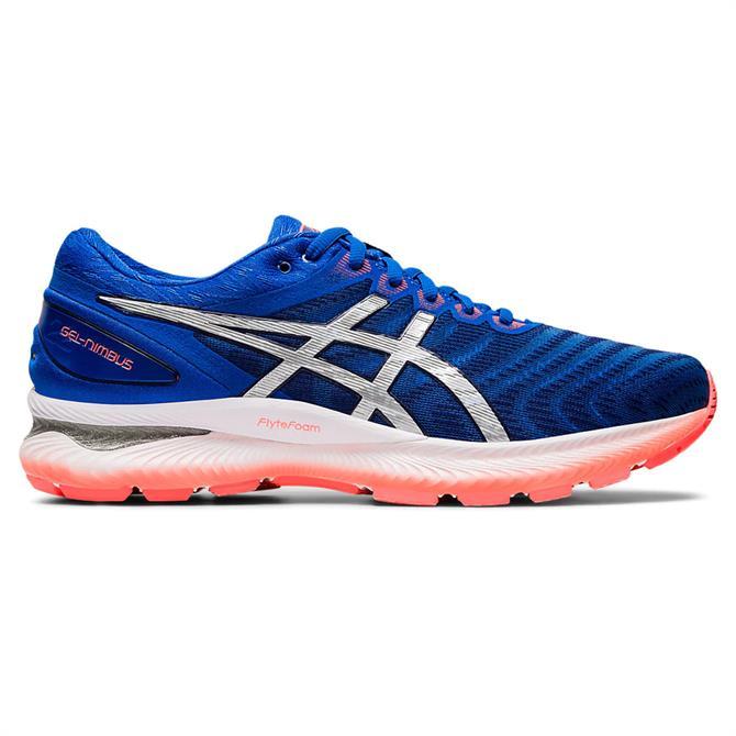 Asics Men's GEL-NIMBUS 22 Running Shoe - Tuna Blue/Pure Silver