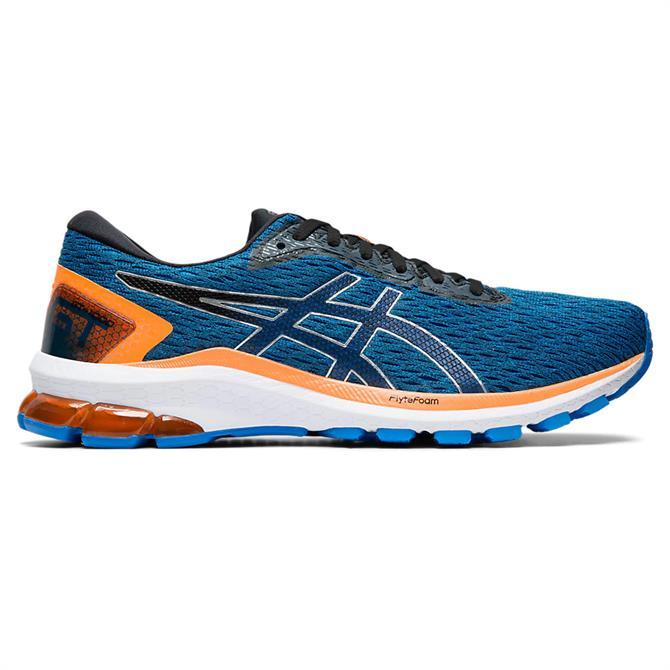 Asics Men's GT-1000 9 Running Shoe - Electric Blue/Black