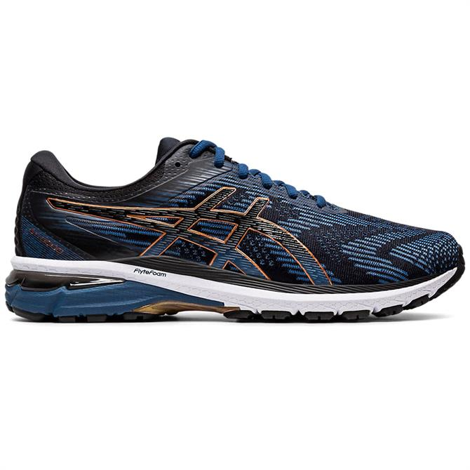 Asics Men's GT-2000 8 Running Shoe - Blue/Black