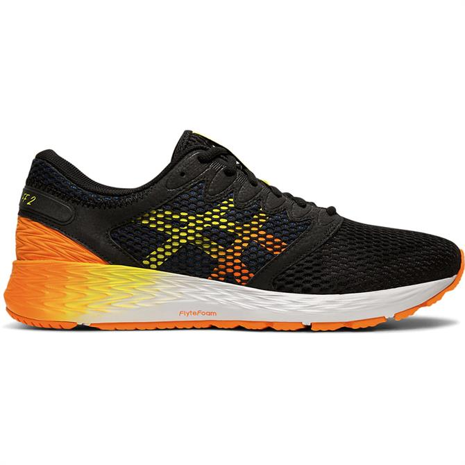 Asics RoadHawk FF 2 Men's Running Shoe - Black/Orange