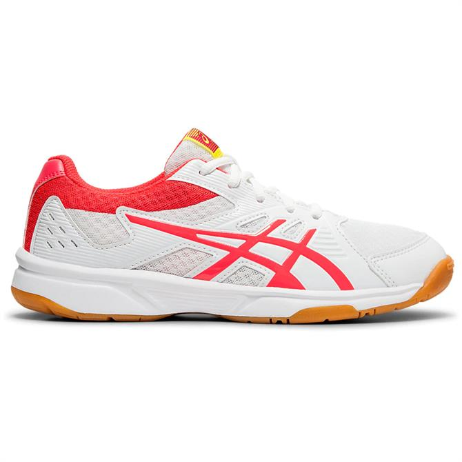 Asics Women's Upcourt 3 Volleyball Shoe - White/Pink