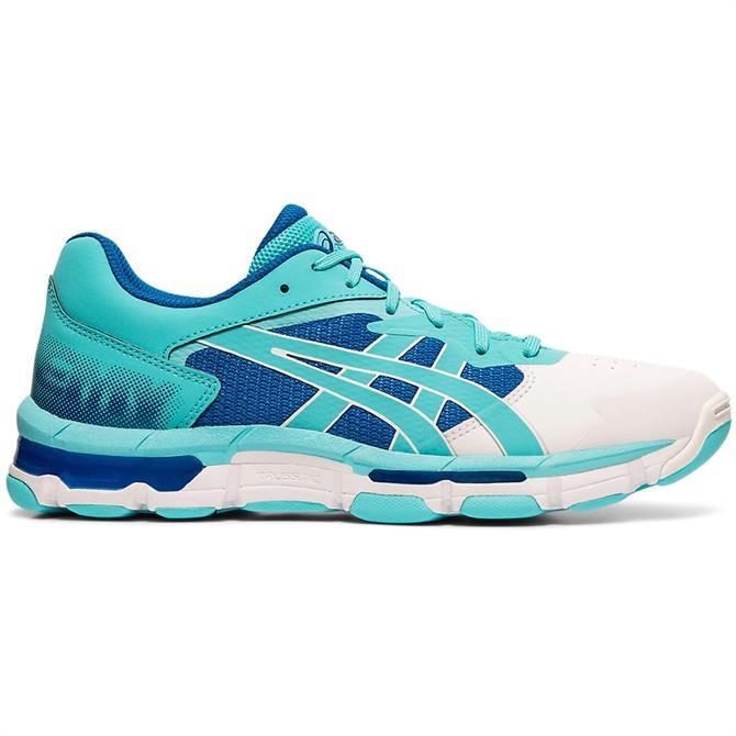 Asics Women's GEL-NETBURNER ACADEMY 8 Netball Shoe - Blue/White