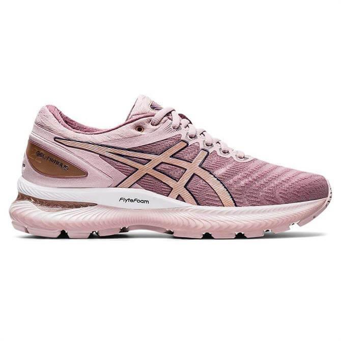 Asics Women's GEL-NIMBUS 22 Running Shoe - Watershed Rose/Rose Gold