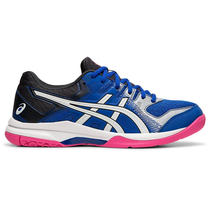 Asics Women's GEL-ROCKET 9 Indoor Court Shoe - Blue/White