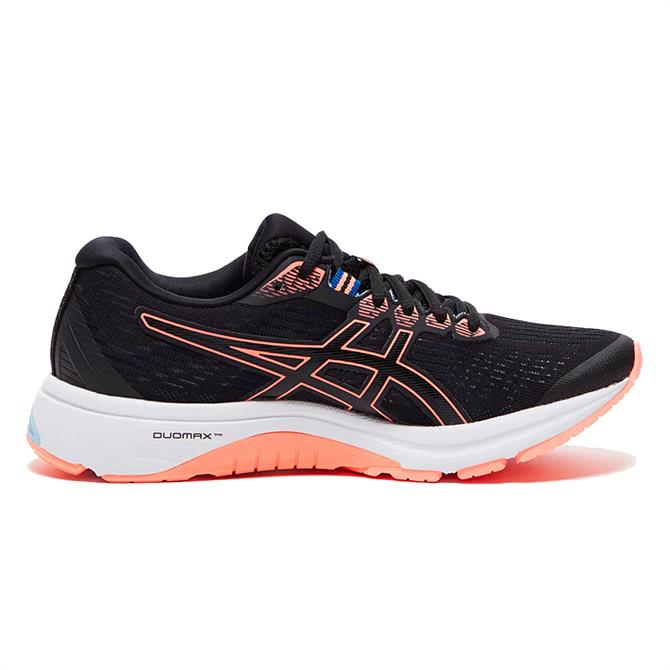 Asics Women's GT-1000 8 Running Shoe - Black/Orange