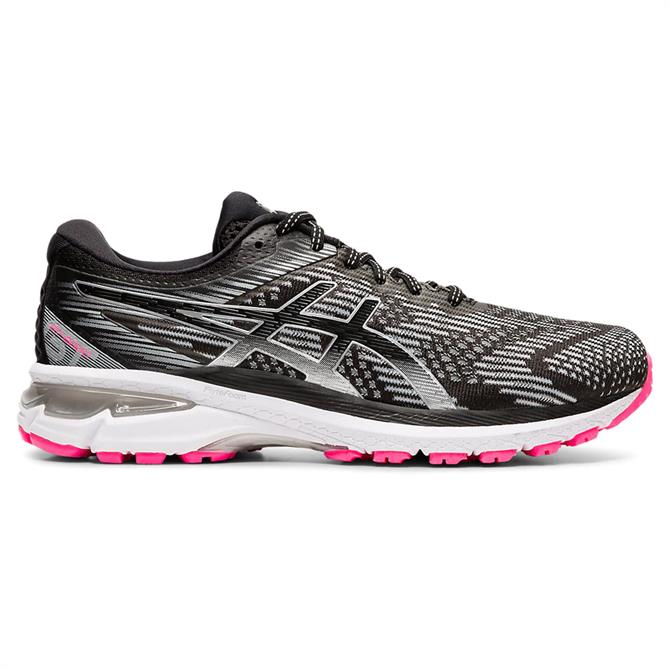 Asics Women's GT-2000 8 Lite-Show Running Shoe - Graphite Grey/Pure Silver
