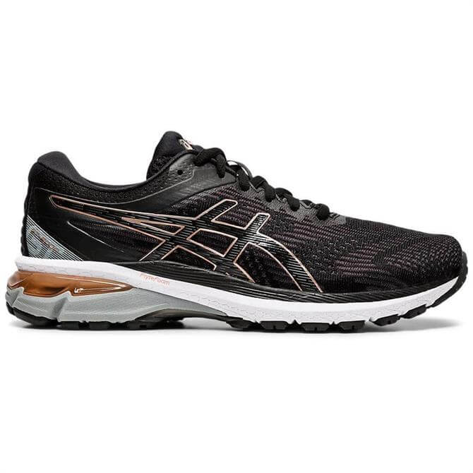 Asics Women's GT-2000 8 Running Shoe - Black/Rose Gold