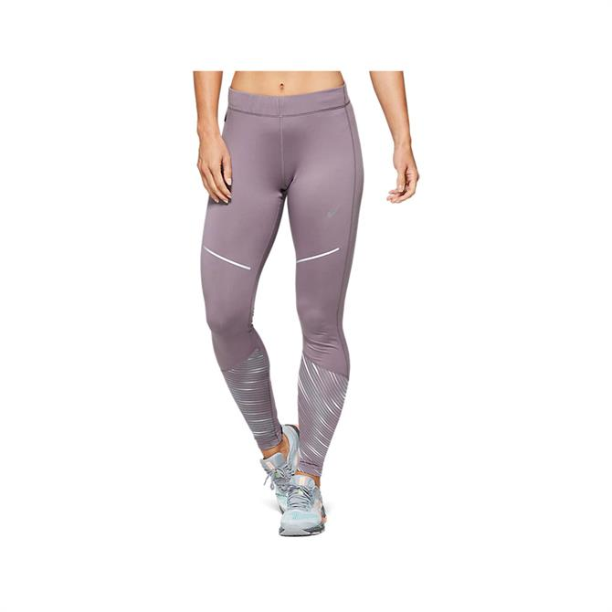 Asics Women's Lite-Show 2 Running Tight - Lavender Grey