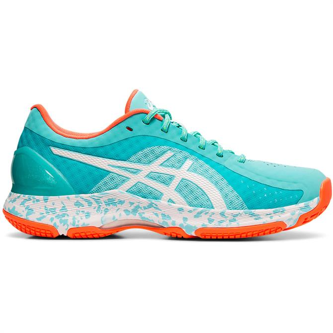 Asics Netburner Super FF Women's Netball Shoe - Mint/White
