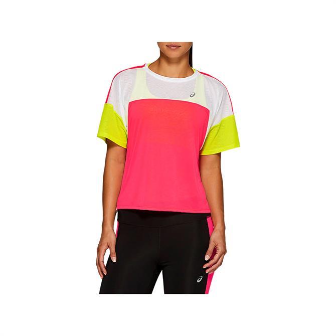 Asics Women's Style Top - Pink/White