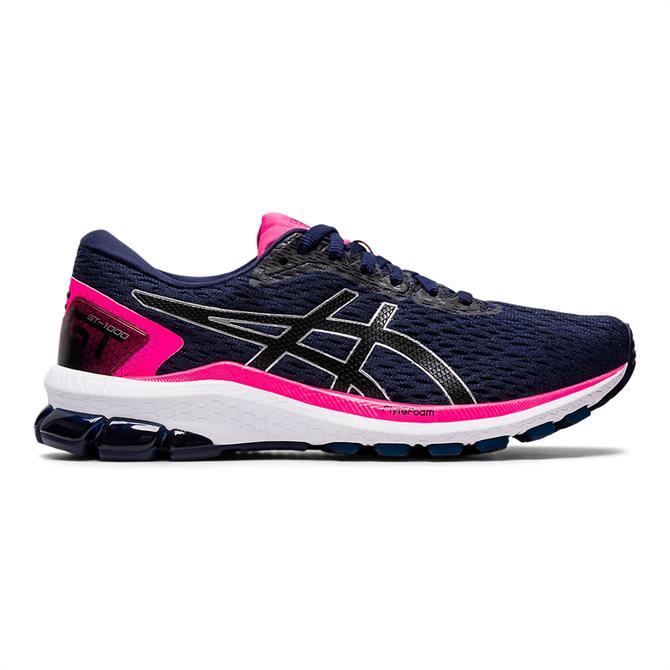 Asics Women's GT-1000 9 Running Shoe - Peacoat/Black