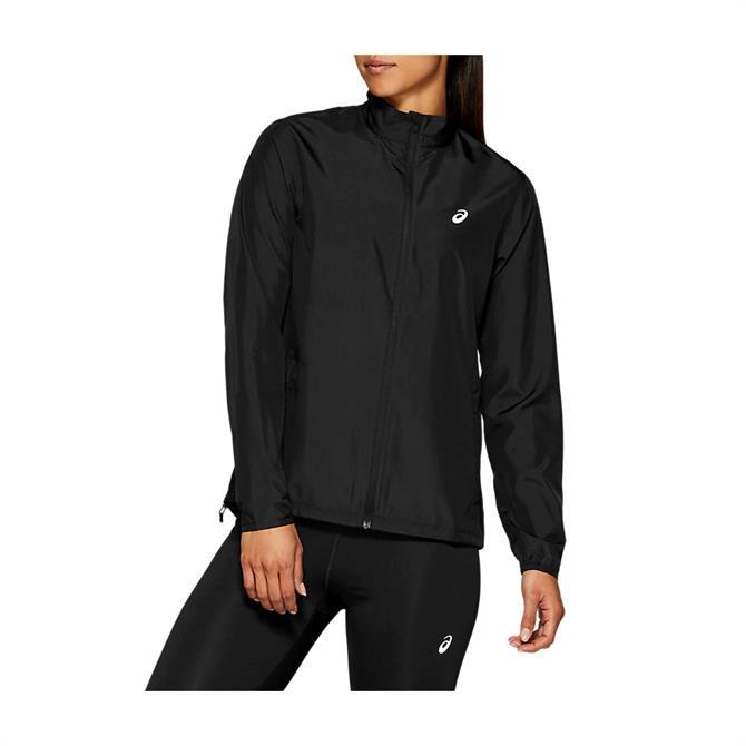 Asics Women's Silver Running Jacket - Black