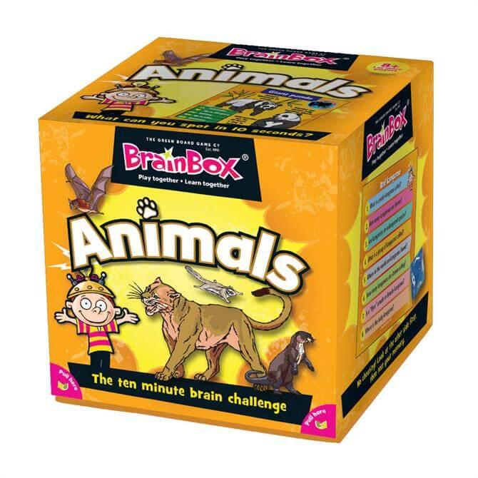 Brain Box Animals Card Game