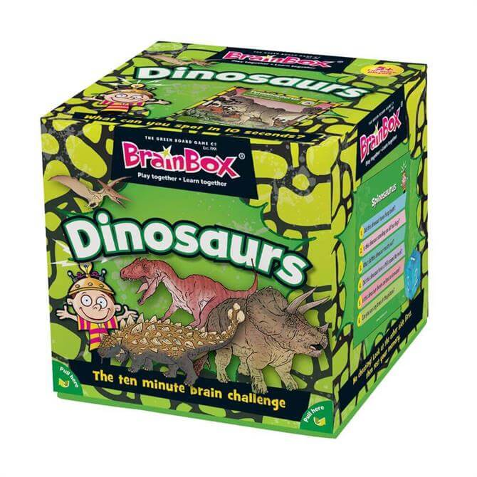 Brain Box Dinosaurs Card Game