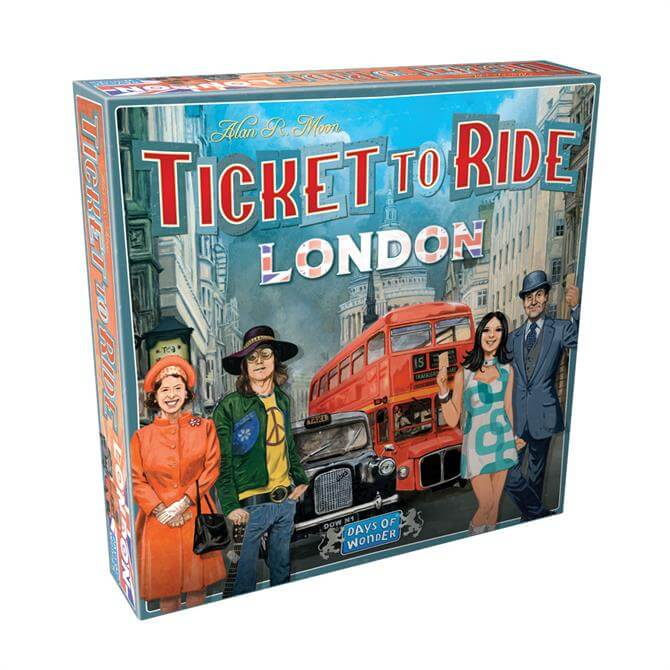ASMODEE Ticket Ride to London Game