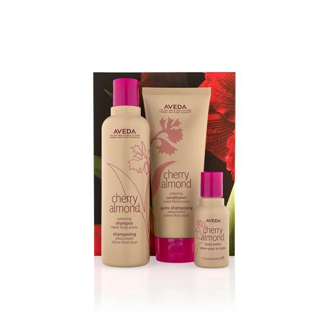 Aveda Cherry Almond Softening Hair & Body Trio Set