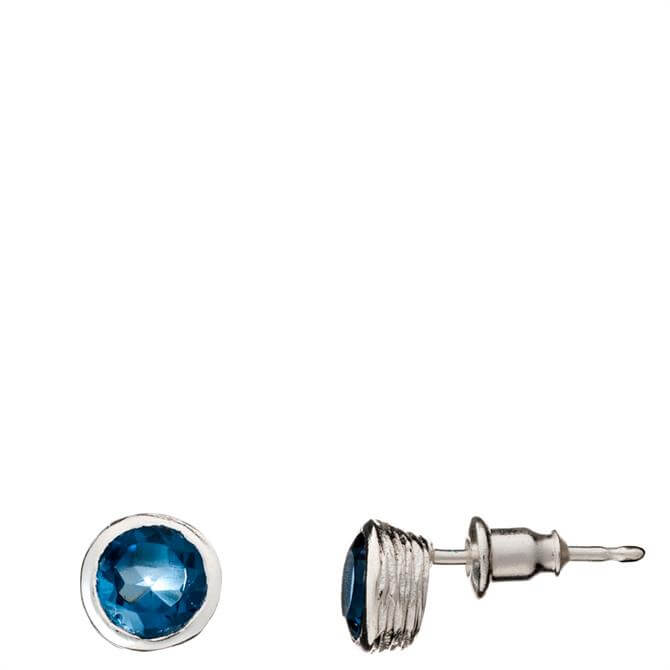 Azuni Iona Gemstone Stud Earrings
