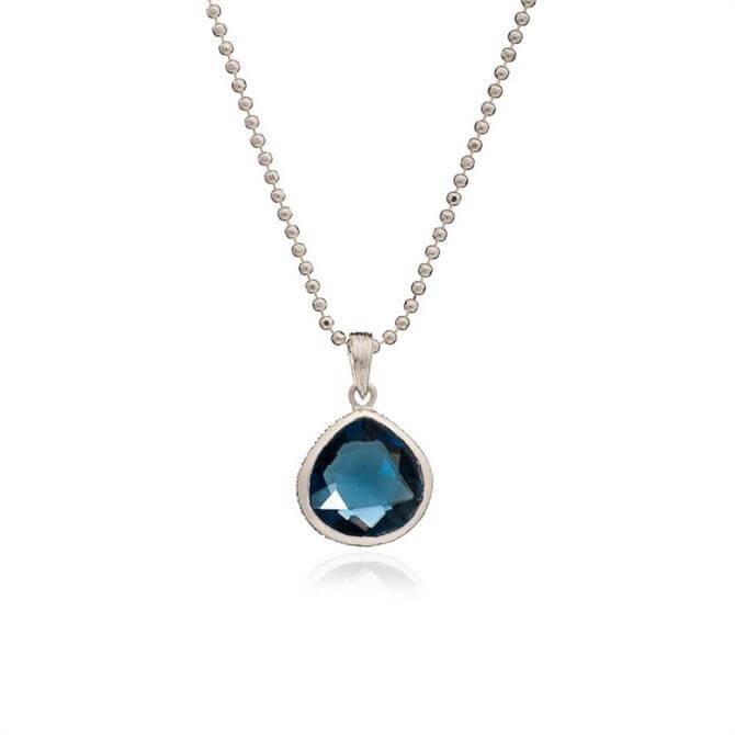 Azuni Demeter Lolite Gemstone Necklace
