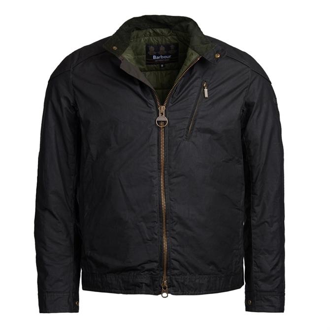 Barbour International Argyle Wax Cotton Jacket
