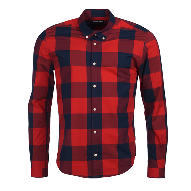 Barbour International Bold Gingham Slim Fit Shirt