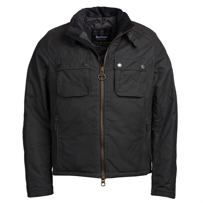 Barbour International Byward Cotton Wax Jacket