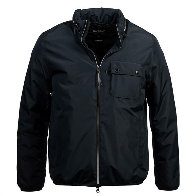 Barbour International Black Kirby Waterproof Breathable Jacket
