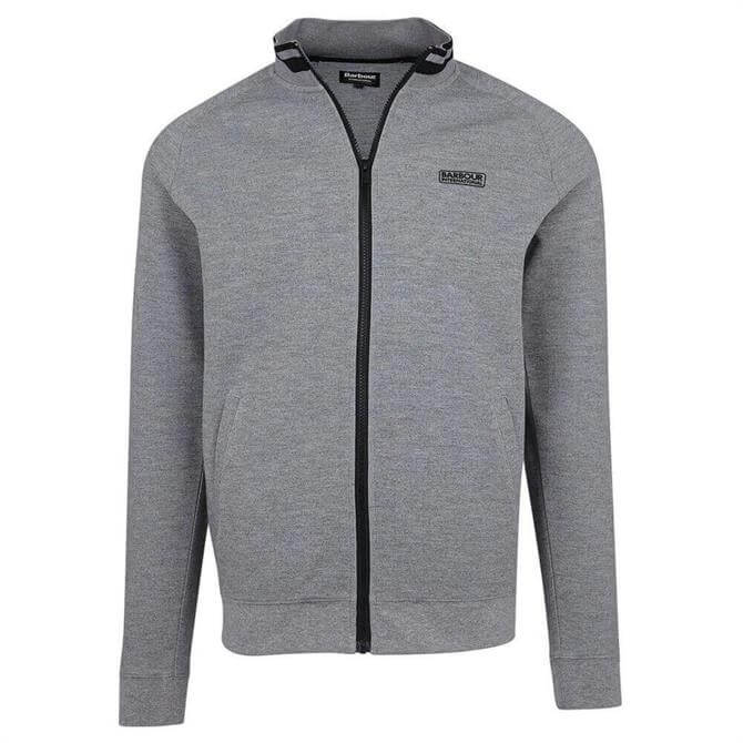 Barbour International Radius Raglan Zip Thru Sweatshirt