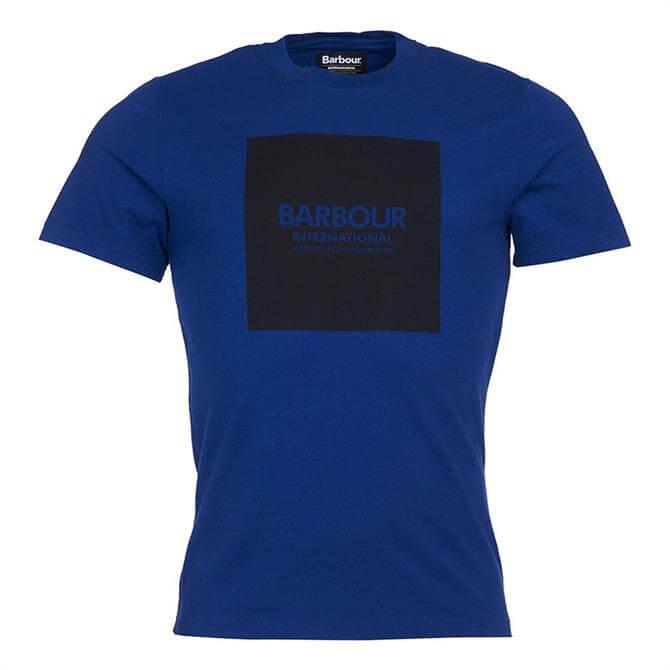 Barbour International Strong Blue Block T-Shirt