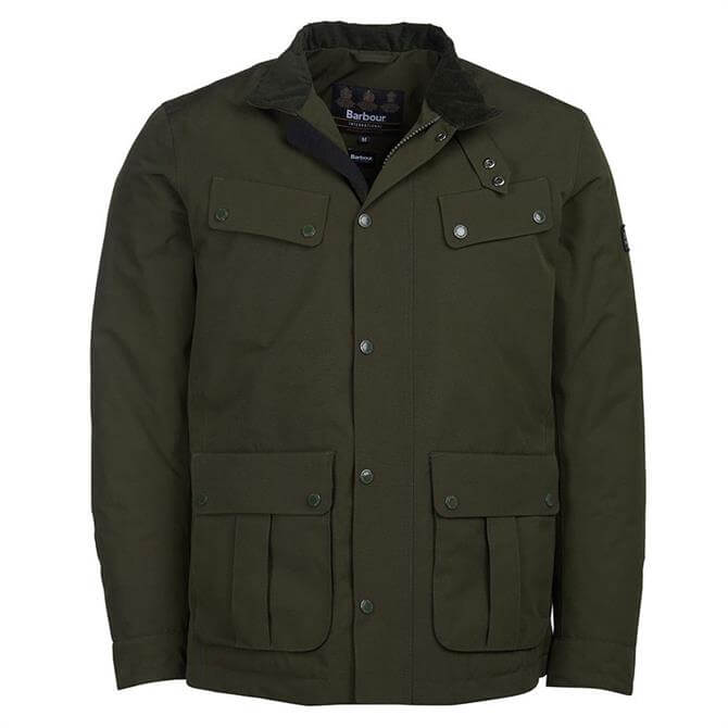 Barbour International Green Waterproof Duke Jacket