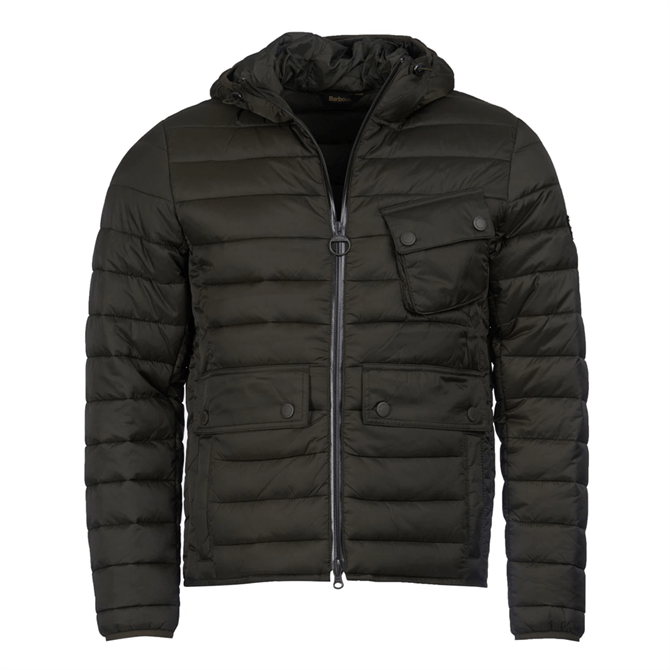 Barbour International Ouston Hooded Slim Quilted Jacket AW19