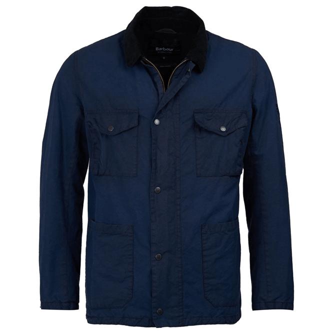 Barbour International Steve McQueen Lawtell Waxed Cotton Jacket