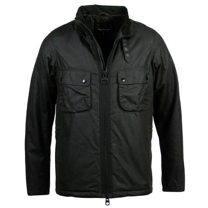 Barbour International Tennant Waxed Cotton Jacket