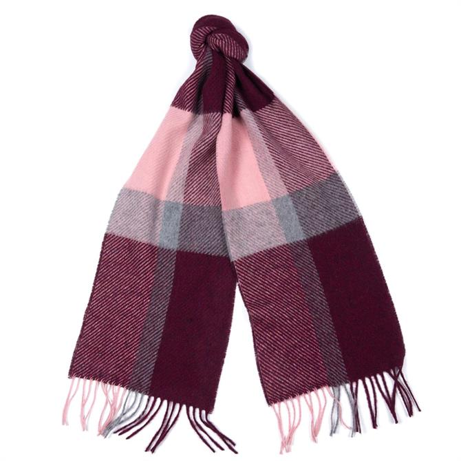 Barbour Hamble Check Scarf